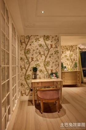 家庭装修室内墙纸效果图
