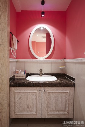 卫生间洗手台效果图片