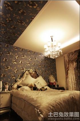 新古典二居卧室吊顶效果图