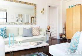 单身公寓客厅装修效果图欣赏