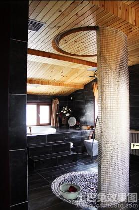 卫生间淋浴室隔断墙设计