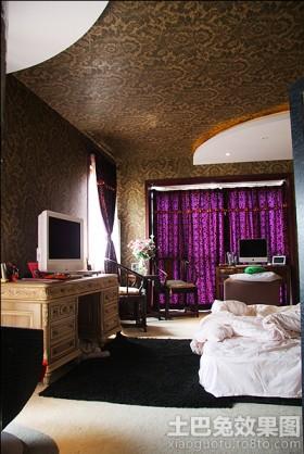 卧室实木电视柜效果图片