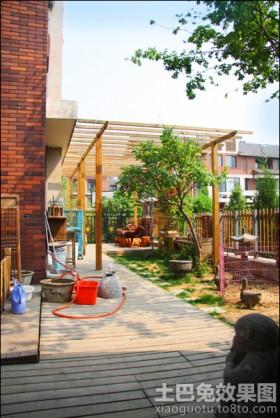 别墅室外阳台装修效果图
