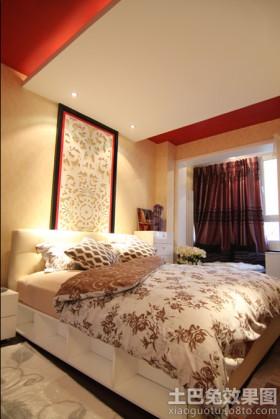 小户型卧室床头背景墙效果图大全