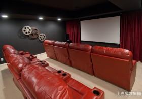 影音室沙发设计效果图