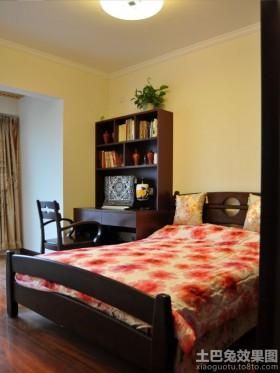 新中式小户型卧室效果图