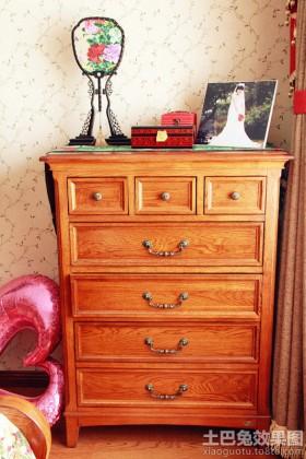 家居实木斗柜图片大全