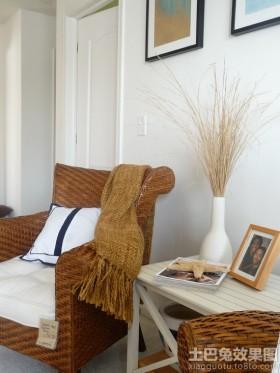 家居休闲藤椅图片