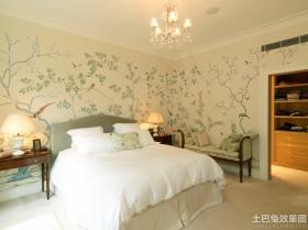 液体壁纸卧室效果图片