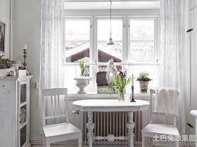 北欧风格公寓装修餐厅效果图