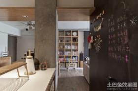 公寓装修玄关墙面装饰效果图