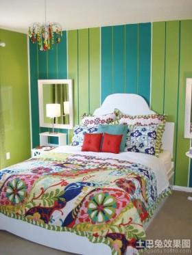 宜家风格卧室墙纸图片大全