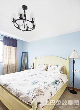 地中海风格二居卧室装修设计