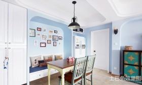 家庭装修餐厅照片墙效果图欣赏