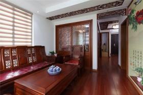 中式风格小户型客厅装修效果图