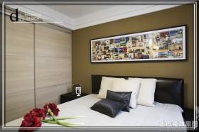 卧室床头照片墙效果图大全