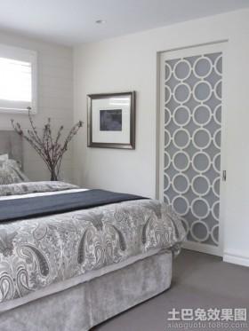 卧室房门装修效果图欣赏