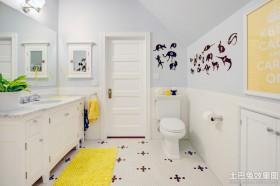欧式卫生间墙贴效果图