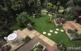 别墅庭院花园设计效果图欣赏