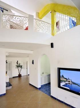 地中海风格过道拱形门效果图