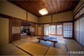 日式装修样板间效果图片