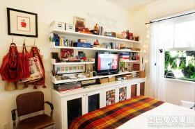 卧室电视组合柜装修效果图片