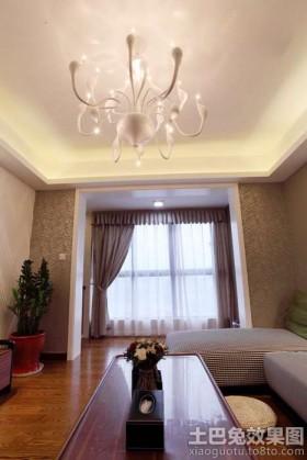 简约客厅装修灯具设计