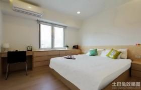 日式简约卧室装修效果图片