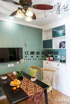 餐厅电视墙颜色效果图欣赏