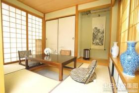 日式风格和室榻榻米装修效果图