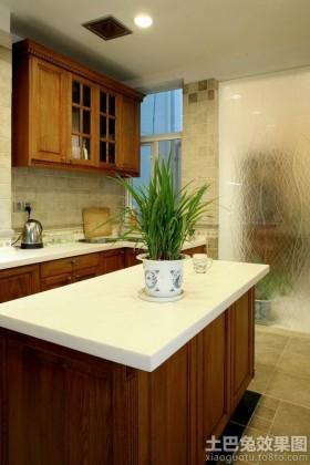 中西混搭风格别墅厨房设计效果图