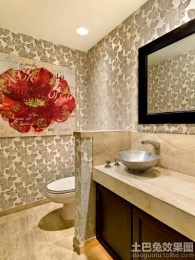 洗手间隔断效果图片