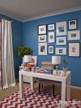 书房照片墙效果图大全2013图片