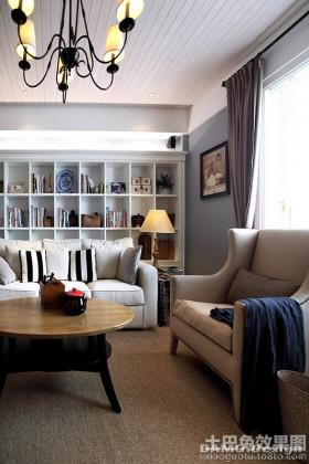现代简欧风格两室两厅装修效果图