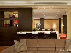 现代黑白公寓室内装潢设计