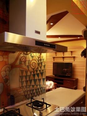 厨房墙面彩绘装饰效果图片欣赏