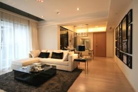 现代风格100平米三室一厅客厅装修效果图