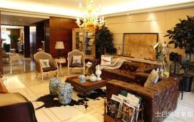 混搭风格家装样板间客厅效果图