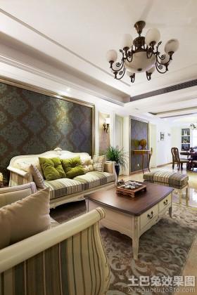 欧式风格客厅客厅欧式家具图片大全
