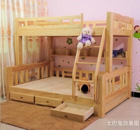 最新实木儿童床图片