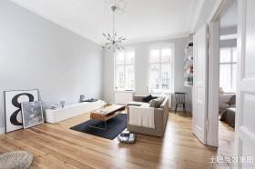 北欧风格60平米小户型客厅效果图