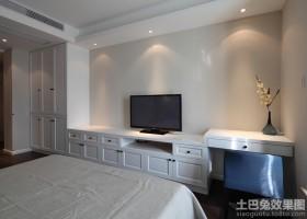 简欧卧室整体壁柜装修效果图