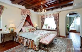 混搭风格别墅卧室装修效果图欣赏