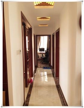 中式风格二居室过道装修效果图