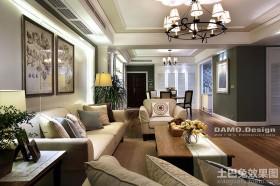 法式风格四室两厅装修效果图