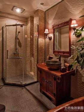 中西混搭卫生间整体淋浴室图片大全