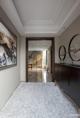 新古典风格过道地毯图片