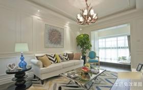 波普风格装修两室一厅效果图