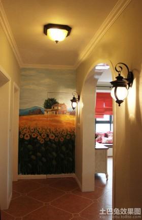 玄关墙绘图片大全