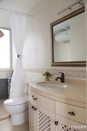 洗手台大理石台面图片